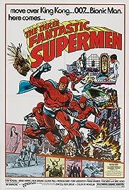 The Three Fantastic Supermen Poster