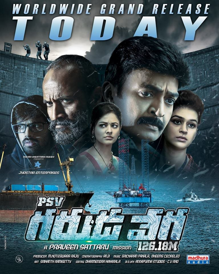 PSV Garuda Vega (2017) Hindi Dual Audio 800MB UNCUT HDRip 720p HEVC x265 ESubs