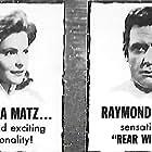 Raymond Burr and Johanna Matz in Mannequins für Rio (1954)