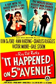 Don DeFore, Victor Moore, Charles Ruggles, and Gale Storm in It Happened on Fifth Avenue (1947)