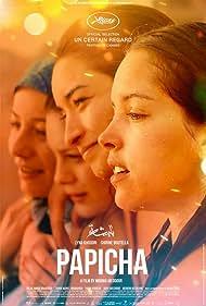 Shirine Boutella, Amira Hilda Douaouda, Zahra Manel Doumandji, and Lyna Khoudri in Papicha (2019)