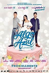 Pablo Brunstein, Carlos Torres, and Elizabeth Grimaldo in Algo Azul (2021)