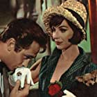 James Booth and Fenella Fielding in In the Doghouse (1961)