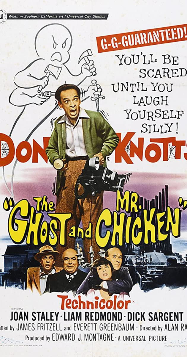 Subtitle of The Ghost and Mr. Chicken