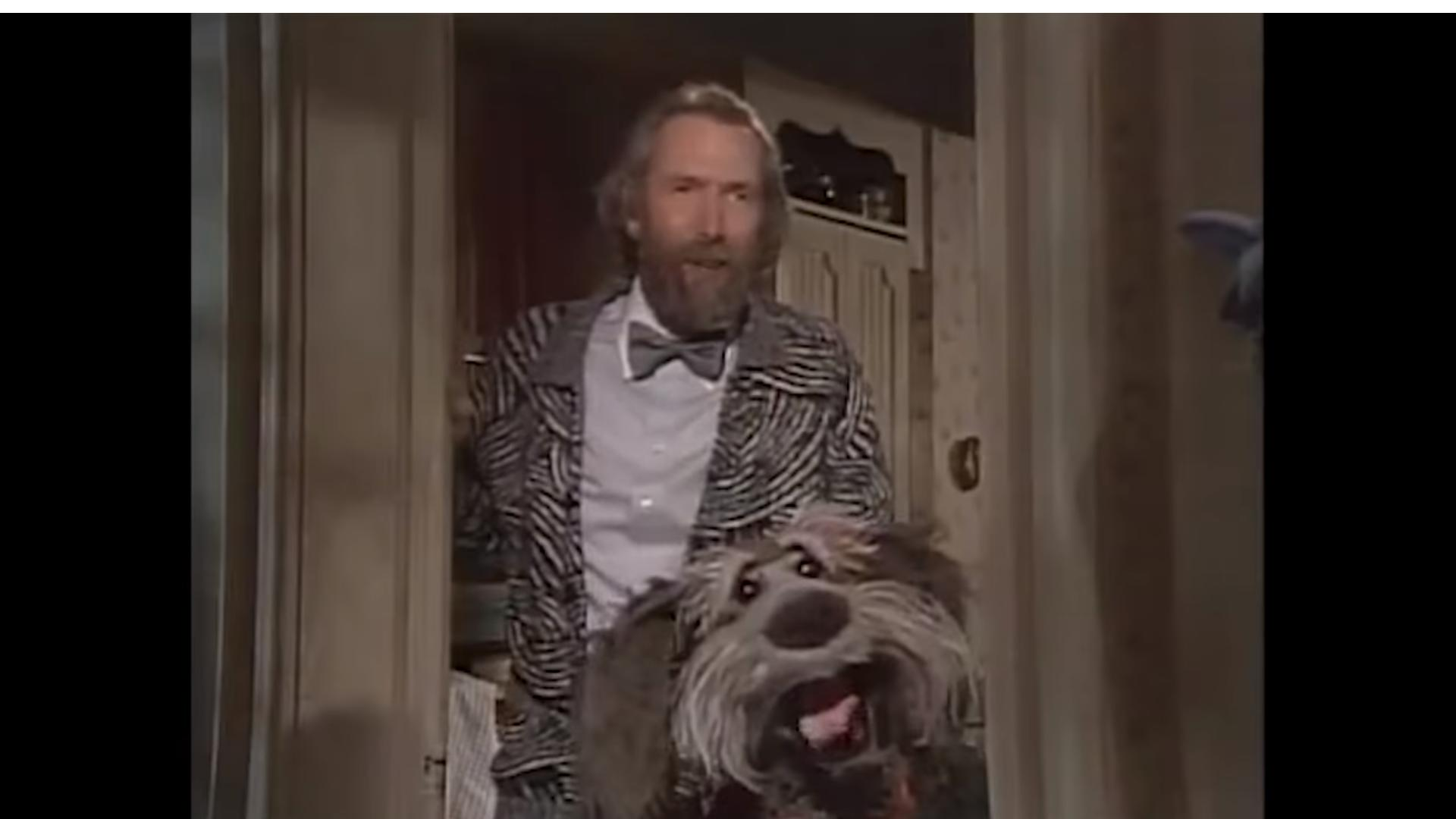Jim Henson and Steve Whitmire in A Muppet Family Christmas (1987)