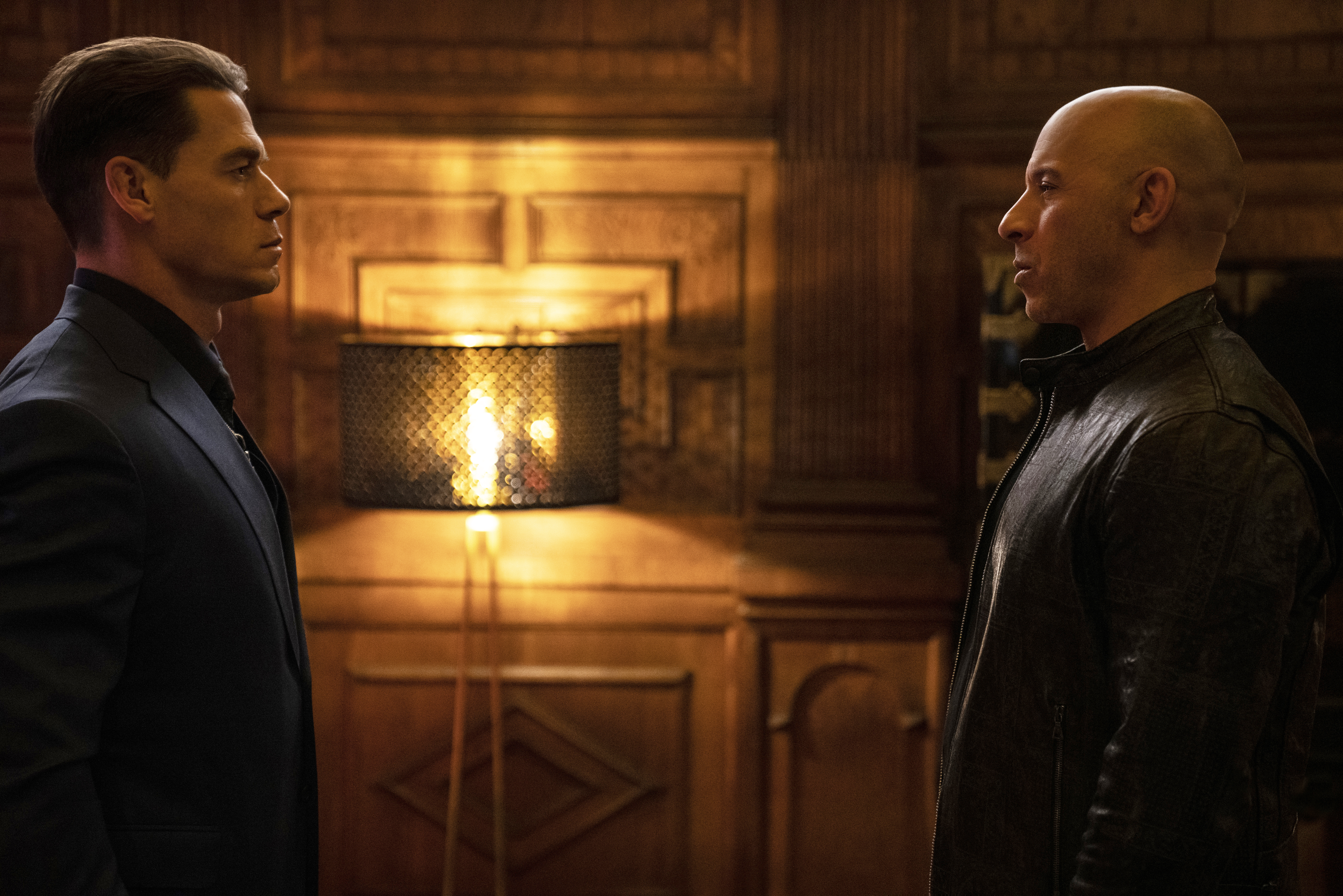 Vin Diesel and John Cena in F9 (2021)