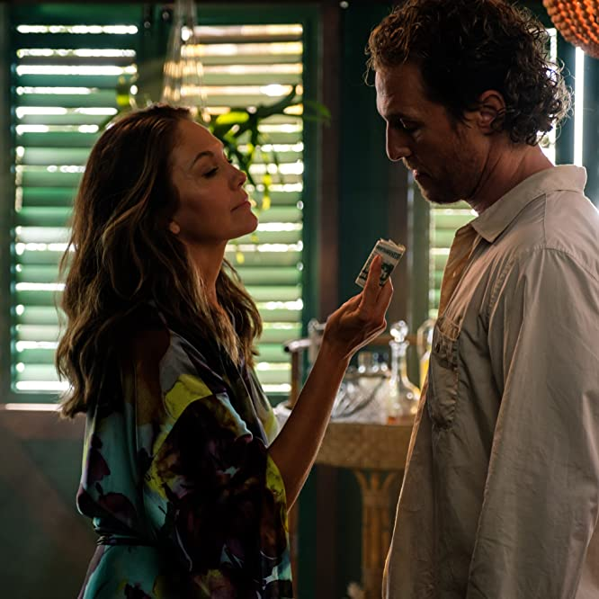 Diane Lane and Matthew McConaughey in Serenity (2019)