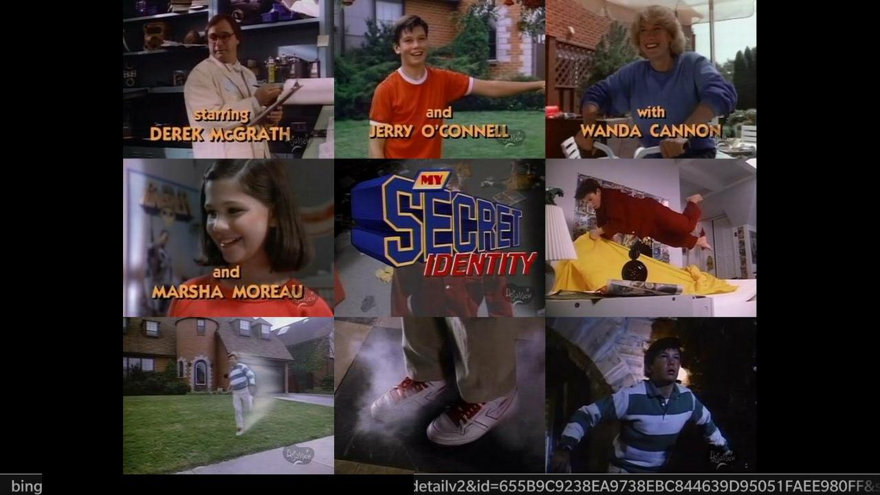 Jerry O'Connell, Wanda Cannon, Derek McGrath, and Marsha Moreau in My Secret Identity (1988)