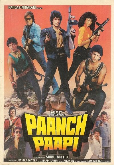 Paanch Papi 1989 Imdb
