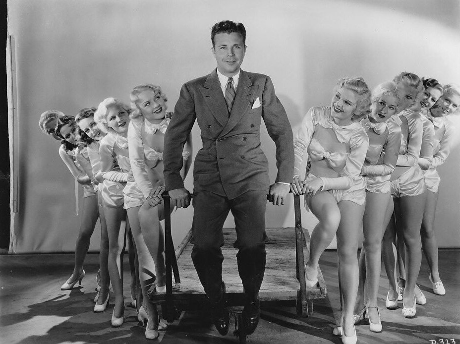 Loretta Andrews, Diane Bourget, Margaret Carthew, Dolores Casey, Mary Cassidy, Beatrice Coleman, Virginia Dabney, Dick Powell, Gladys Cummings, Mary Casiday, and Shirley Denise in Dames (1934)