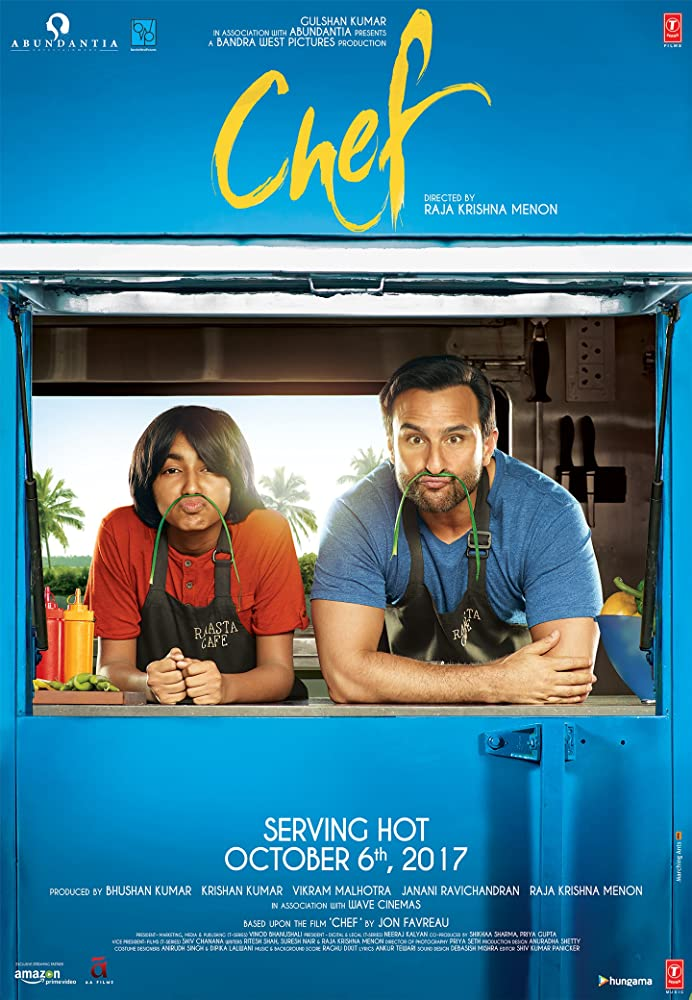 Chef 2017 Hindi Movie WebRip 300mb 480p 1GB 720p