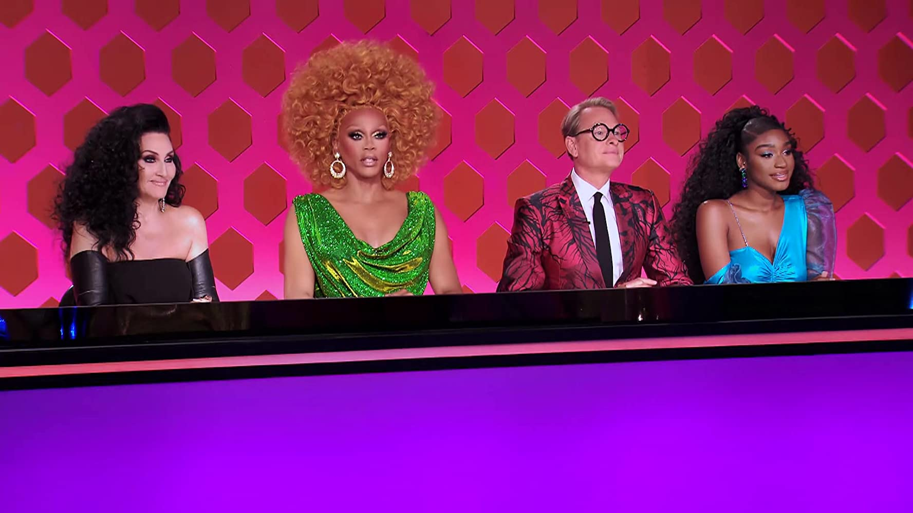 RuPaul, Michelle Visage, Carson Kressley, and Normani in Gay's Anatomy (2020)
