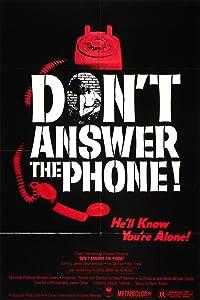 Movies downloading sites Don't Answer the Phone! Joseph Ellison [1280x720p]
