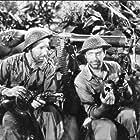Robert Taylor and Lloyd Nolan in Bataan (1943)