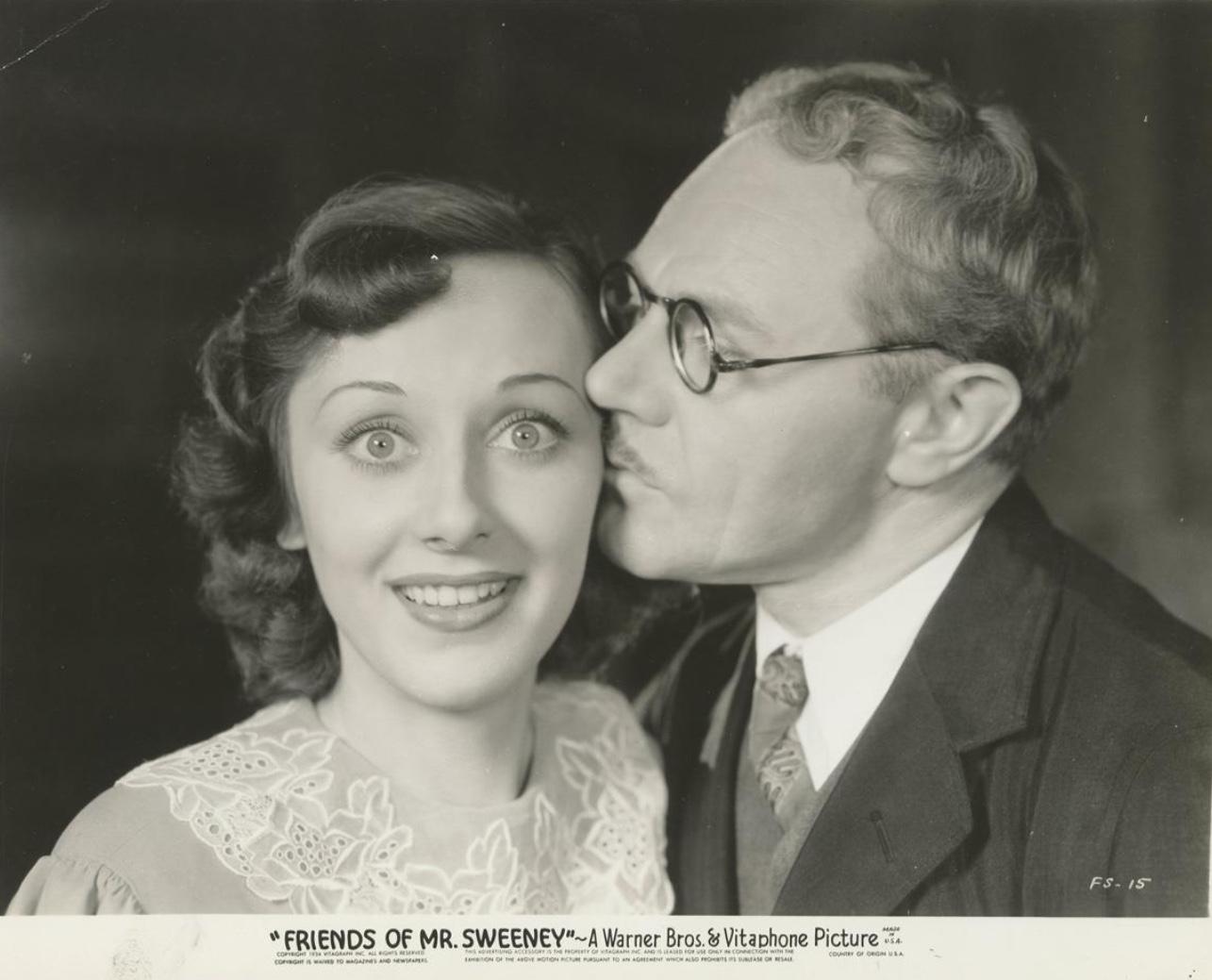 Ann Dvorak and Charles Ruggles in Friends of Mr. Sweeney (1934)