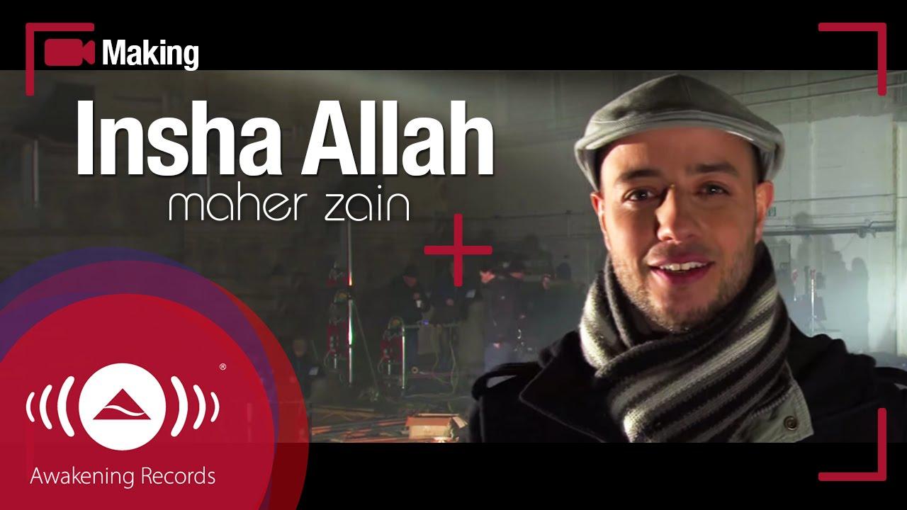 Maher Zain : Making of Music Video 'Insha Allah' (Video 2010