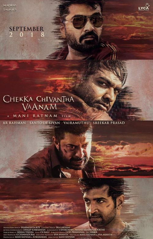 Aakhri Chaal Ab Kaun Bachega (Chekka Chivantha Vaanam) 2019 Hindi Dubbed 720p HDRip 950MB Download