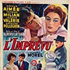 Anouk Aimée and Tomas Milian in L'imprevisto (1961)