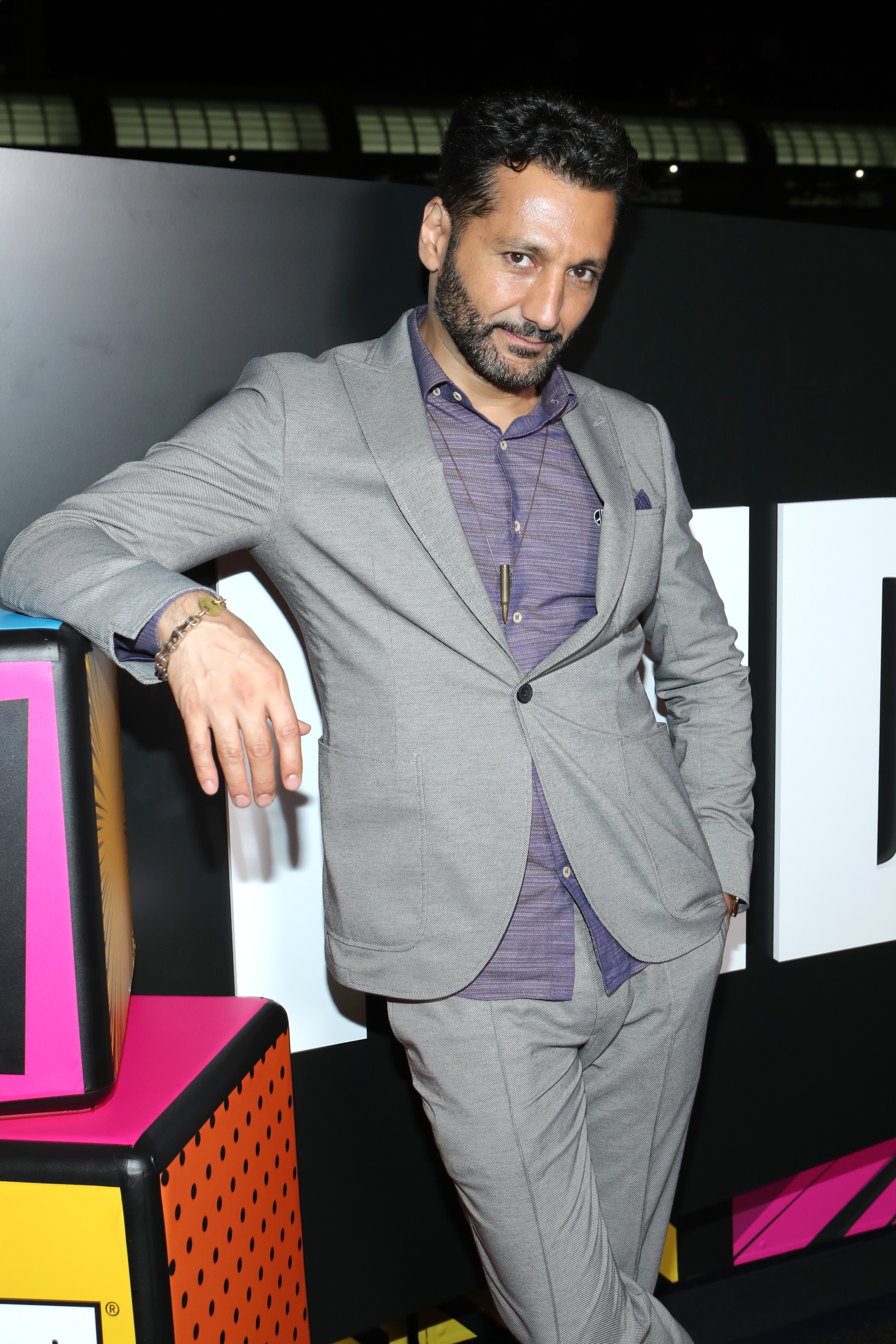 Cas Anvar at an event for IMDb at San Diego Comic-Con (2016)