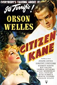 Orson Welles, Agnes Moorehead, and Dorothy Comingore in Citizen Kane (1941)