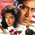 Ajay Devgn and Madhoo in Phool Aur Kaante (1991)