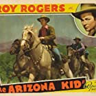 Roy Rogers, Stuart Hamblen, and Trigger in The Arizona Kid (1939)