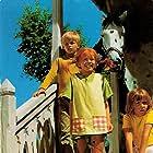 Inger Nilsson, Maria Persson, and Pär Sundberg in På rymmen med Pippi Långstrump (1970)