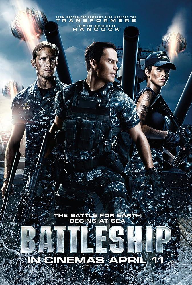 Battleship (2012) BluRay 720p ORG Audios Hindi + Eng+ Telugu + Tamil  1.2GB – ESub