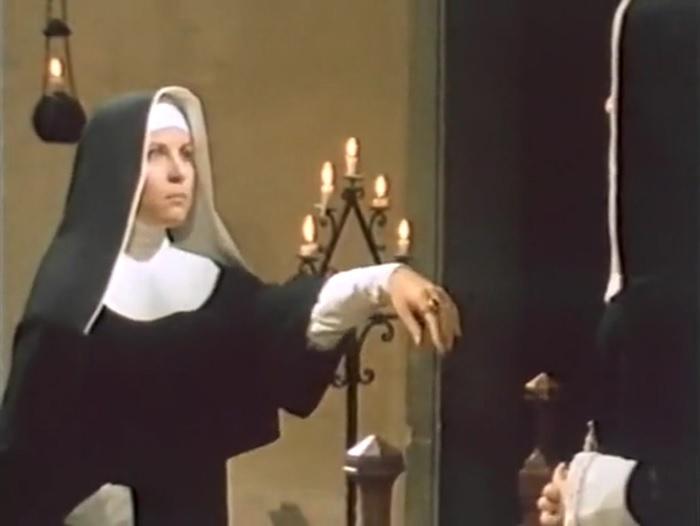 Zora Kerova in La vera storia della monaca di Monza (1980)