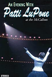An Evening with Patti LuPone Poster