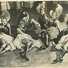 Maxine Ardell, Bunny Bronson, Jeanette Dickson, Loretta Barnett, and Margaret Bryson in Lady for a Night (1942)