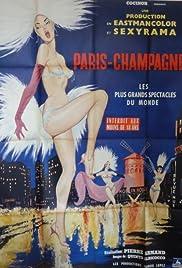 Paris champagne Poster