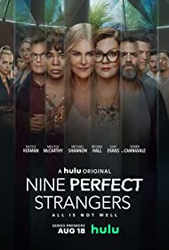Nicole Kidman, Bobby Cannavale, Regina Hall, Melissa McCarthy, Michael Shannon, and Luke Evans in Nine Perfect Strangers (2021)