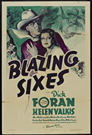 Blazing Sixes Poster