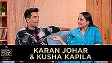 'Estrella de las redes sociales con Janice' E03: Karan Johar y Kusha Kapila