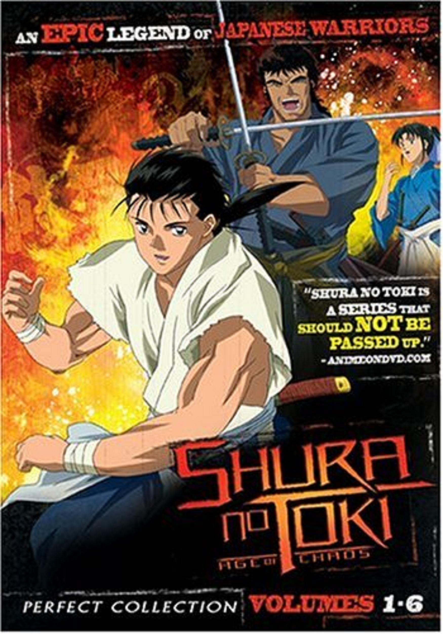 دانلود زیرنویس فارسی سریال Shura no Toki: Age of Chaos