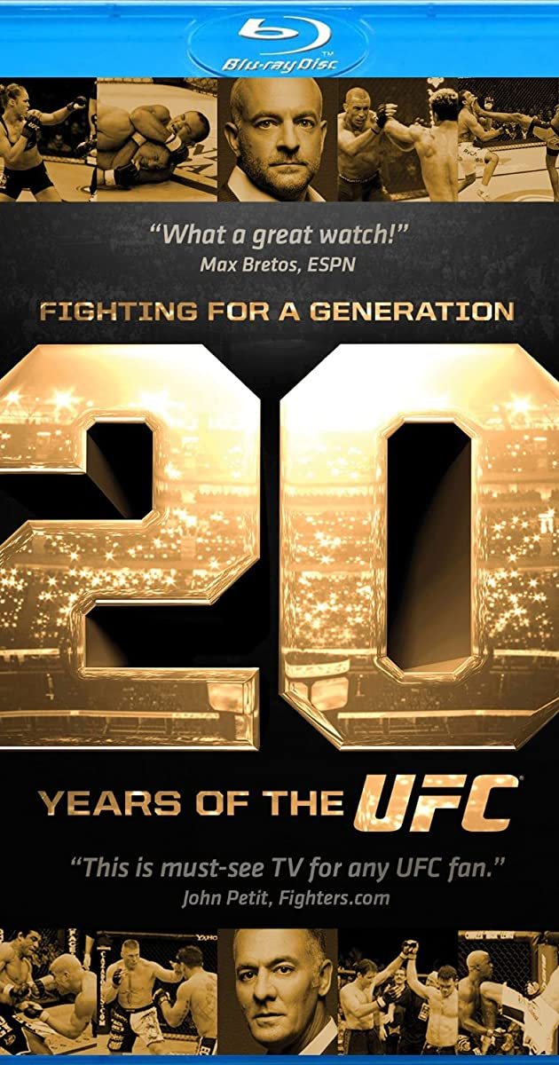 Subtitle of Fighting for a Generation: 20 Years of the UFC