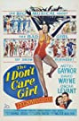 The I Don't Care Girl (1953) Poster