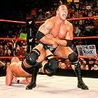 Steve Austin and Dwayne Johnson in WWF Rebellion (2001)