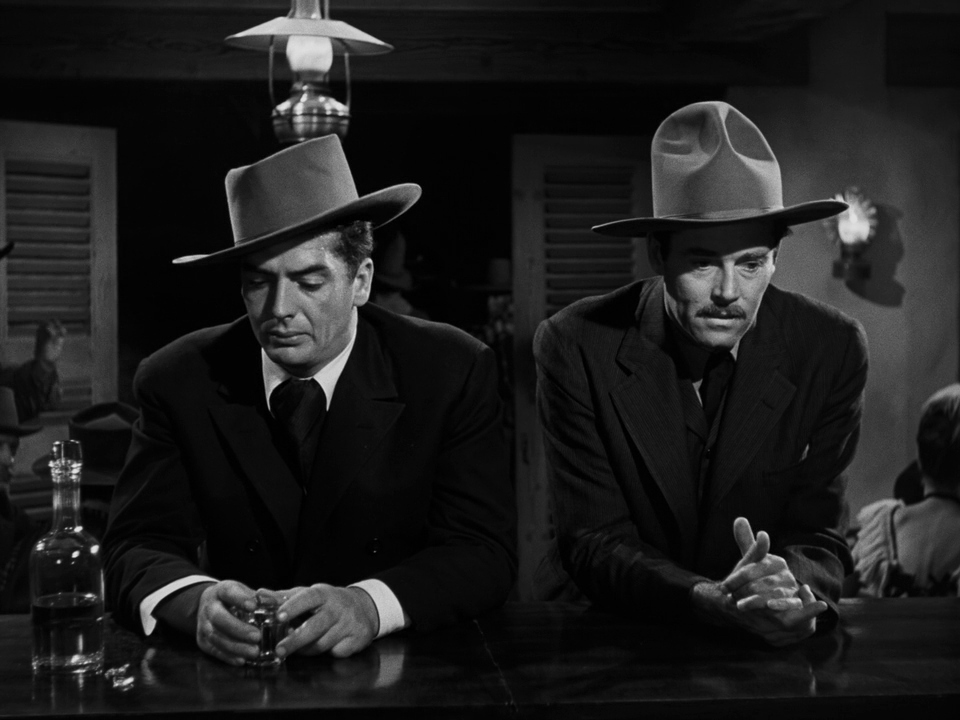 Henry Fonda and Victor Mature in My Darling Clementine (1946)