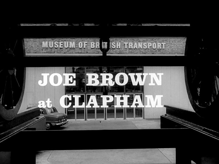 Joe Brown at Clapham (1965)