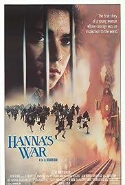 Hanna's War Poster