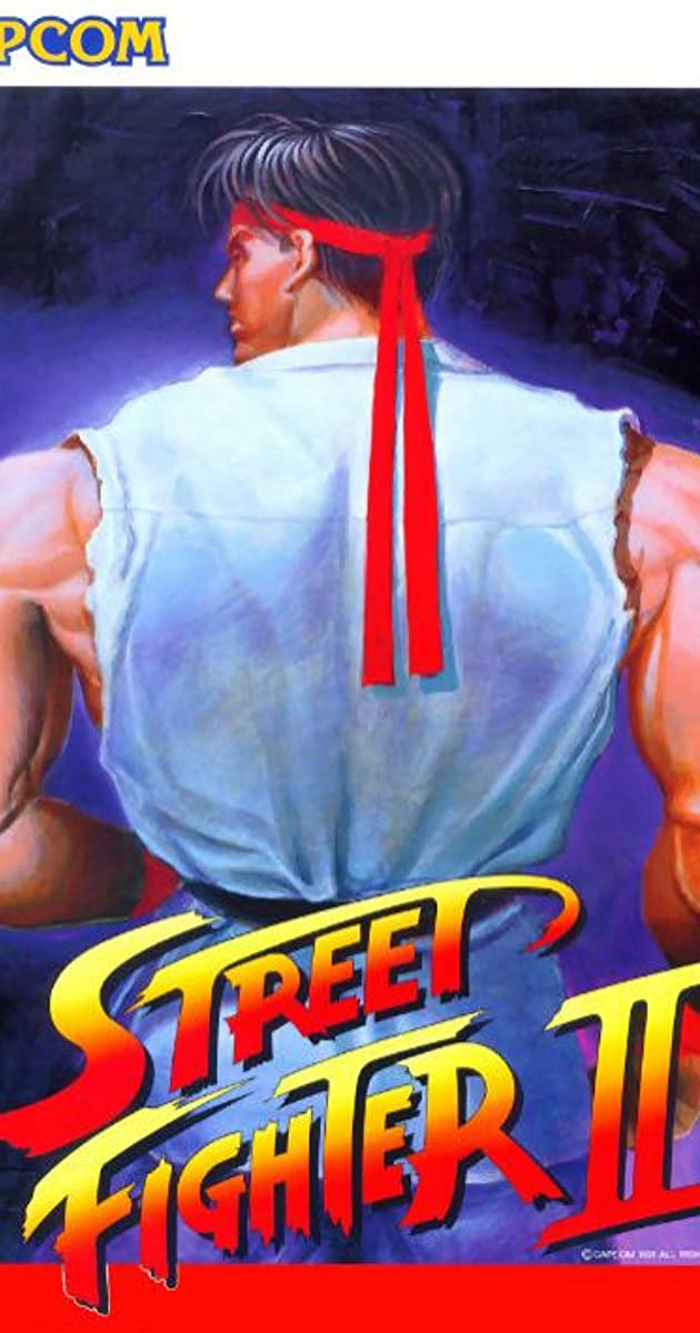 Street Fighter Ii The World Warrior Video Game 1991