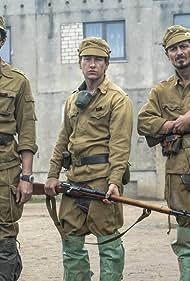 Fares Fares, Alexej Manvelov, and Barry Keoghan in Chernobyl (2019)