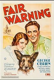 Fair Warning Poster