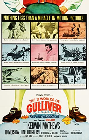 Where to stream The 3 Worlds of Gulliver