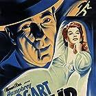 Humphrey Bogart and Irene Manning in The Big Shot (1942)