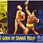 Bill Cord and Don Durant in She Gods of Shark Reef (1958)