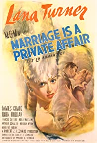 Primary photo for Marriage Is a Private Affair