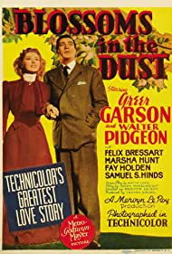 Greer Garson and Walter Pidgeon in Blossoms in the Dust (1941)